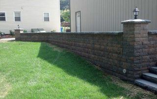 Paver Wall
